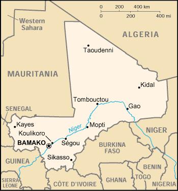 Mali Download GPS Map For Garmin Garmin WorldMaps - Map of mali