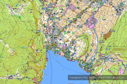 Topographic Map Sweden - GarminWorldmaps.com