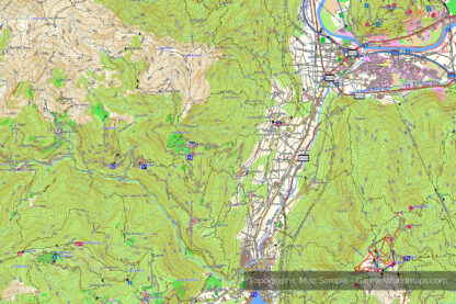 Topographic Map Sample - GarminWorldmaps.com