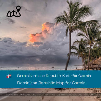 Dominican Republic Garmin Map Download