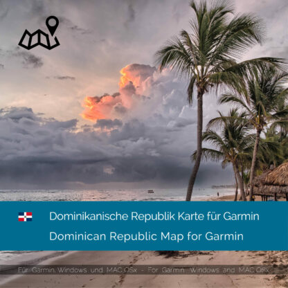 Dominican Republic Garmin Map Download