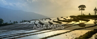 Asia Maps for Garmin