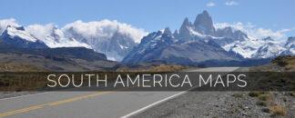 South America Maps for Garmin