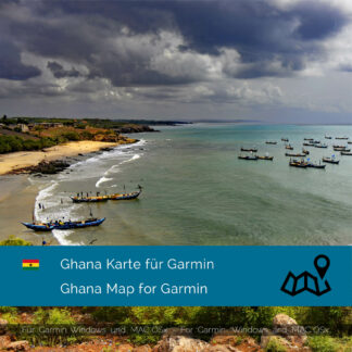 Ghana Garmin Map Download