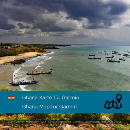 Ghana Garmin Map Download
