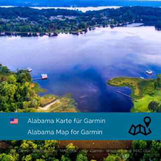 Alabama (USA) Garmin Map Download
