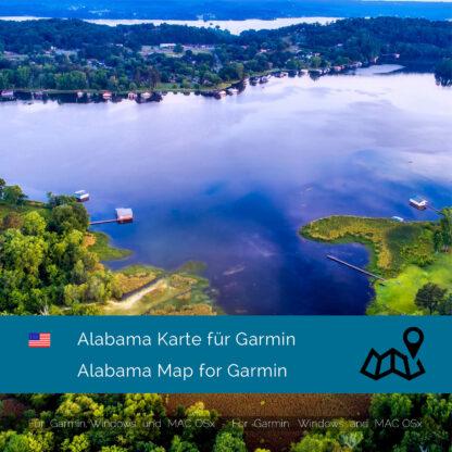 Alabama (USA) Garmin Map Download