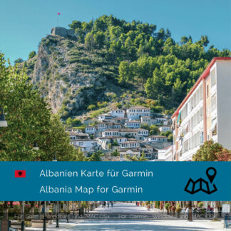 Albania - Download GPS Map for Garmin PC & MAC