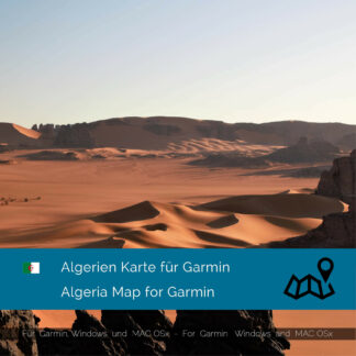 Algeria - Download GPS Map for Garmin PC & MAC