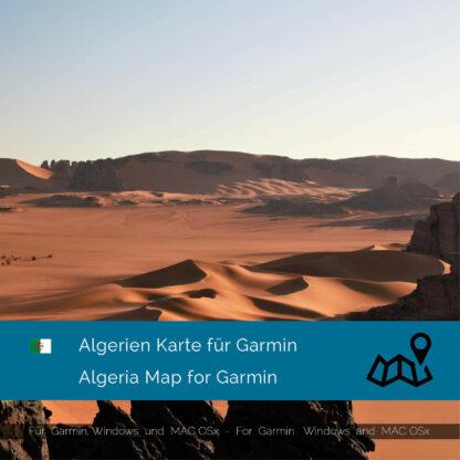 Algeria - Download GPS Map for Garmin PC & MAC