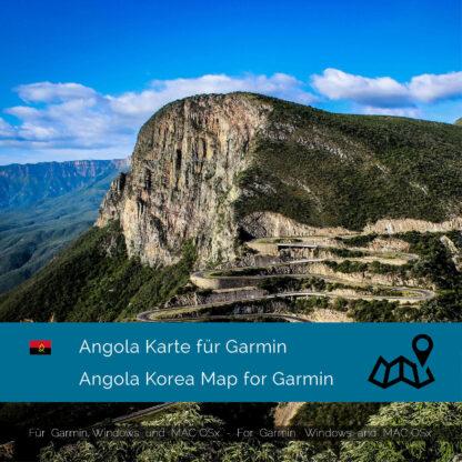 Angola - Download GPS Map for Garmin PC & MAC