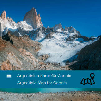 Argentina - Download GPS Map for Garmin
