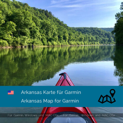 Arkansas (USA) Garmin Map Download