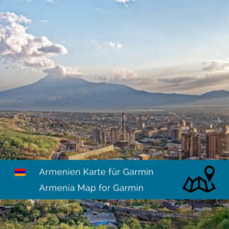 Armenia - Download GPS Map for Garmin PC and Mac