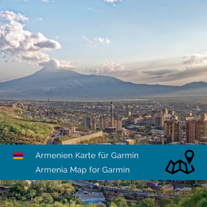 Armenia - Download GPS Map for Garmin PC and Mac