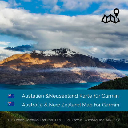 Australia & New Zealand Garmin Map Download