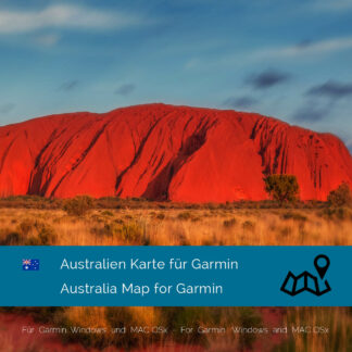 Australia Garmin map Download