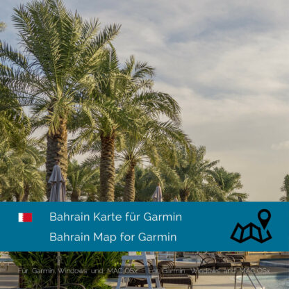 Bahrain - Download GPS Map for Garmin PC & MAC
