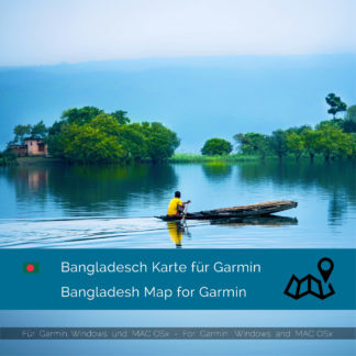 Bangladesh - Download GPS Map for Garmin PC & MAC