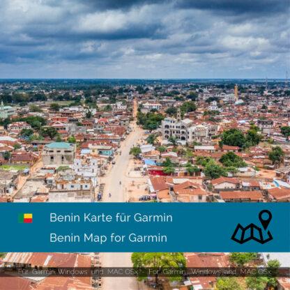 Benin - Download GPS Map for Garmin PC & MAC
