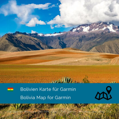 Bolivia - Download GPS Map for Garmin PC & Mac