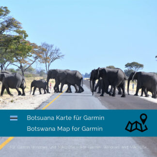 Botswana Garmin Map Download