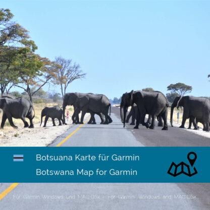 Botswana Garmin Map Download