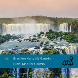 Brazil - Download GPS Map for Garmin PC & Mac