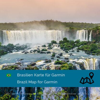 Brazil - Download GPS Map for Garmin PC & Mac