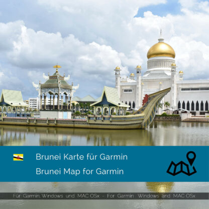 Brunei - Download GPS Map for Garmin PC & MAC | Garmin WorldMaps