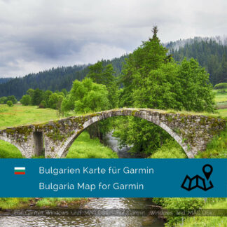 Bulgaria - Download GPS Map for Garmin PC & MAC