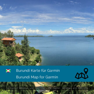 Burundi - Download GPS Map for Garmin PC & MAC