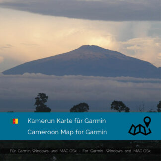 Cameroon - Download GPS Map for Garmin PC & MAC