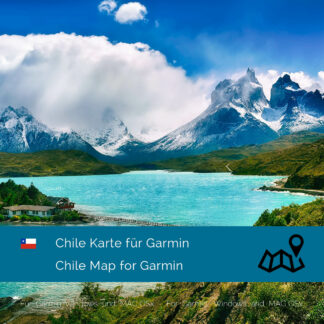 Chile - Download GPS Map for Garmin