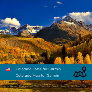 Colorado (USA) Garmin Map Download