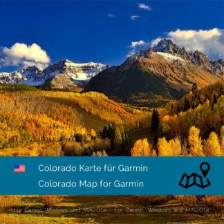 Colorado (USA) Garmin Map Download