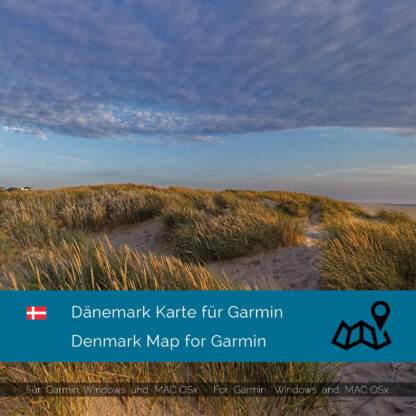 Denmark - Download GPS Map for Garmin PC and Mac