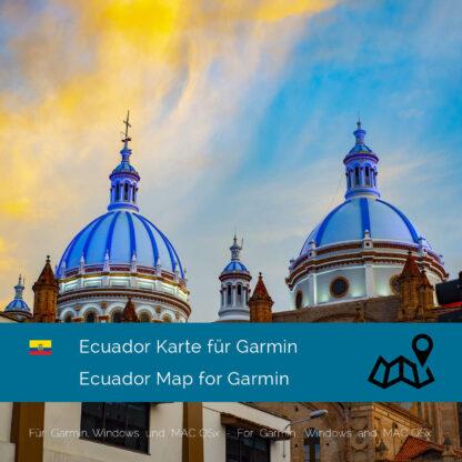 Ecuador Garmin Map Download