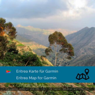 Eritrea - Download GPS Map for Garmin PC & MAC