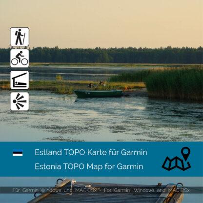 Estonia TOPO Garmin map Download
