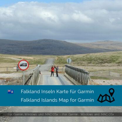 Falkland Islands - Download GPS Map for Garmin PC & Mac
