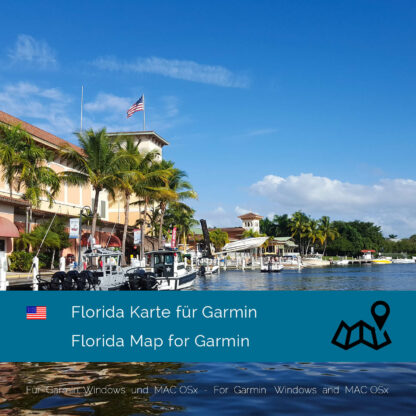 Florida (USA) Garmin Map Download