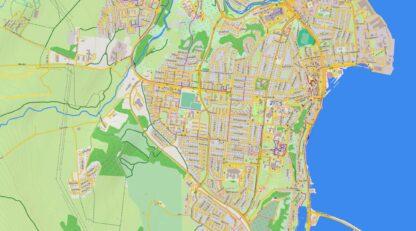 Iceland Topo Garmin Map GW Sample