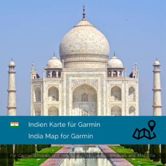 India - Download GPS Map for Garmin PC and Mac | Garmin WorldMaps