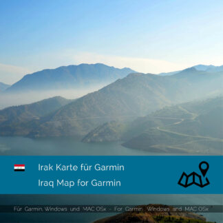 Iraq - Download GPS Map for Garmin PC & MAC
