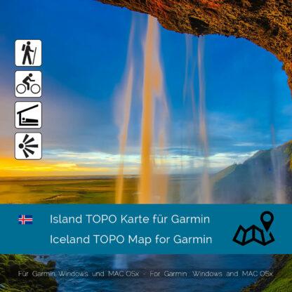Iceland TOPO Garmin map Download