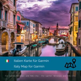 Italy Garmin Map Download