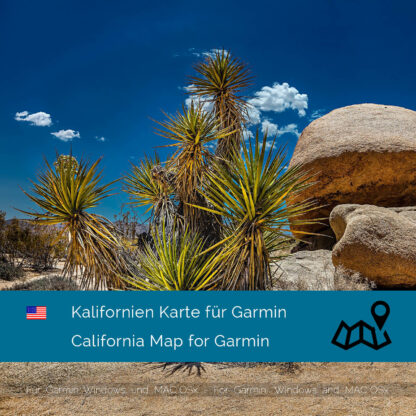 California (USA) Garmin Map Download