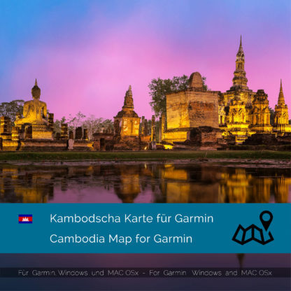 Cambodia - Download GPS Map for Garmin PC & MAC | Garmin WorldMaps