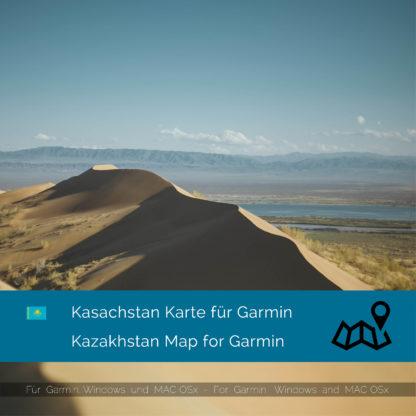 Kazakhstan Garmin Map Download